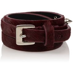 TOPSHOP Stud Skinny Belt (3.150 RUB) ❤ liked on Polyvore featuring accessories, belts, oxblood, 100 leather belt, genuine leather studded belt, real leather belts, thin belt and skinny leather belt