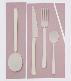 maarten baas + koichi futatsumata interpret distinctive cutlery for valerie_objects Spoon Knife, Knife And Fork, Kitchenware, Tableware, Belgian Style, Food Photography Styling, Food Styling, Wooden Spoons, Contemporary Jewellery