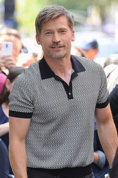 [b]Born:[/b] 1970 [b]Single?[/b] Nikolaj is happily married to Greenlandic actress Nukaka, with whom he shares two children and two dogs.  [b]See Him Next:[/b] Taking the lead in Danish thriller, [i]Domino[/i], about a police officer seeking justice for his partner's murder.