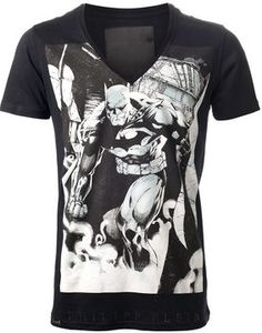 abbd3396bcfc Philipp Plein printed t-shirt on shopstyle.co.uk Philip Plein, Jeanshemde