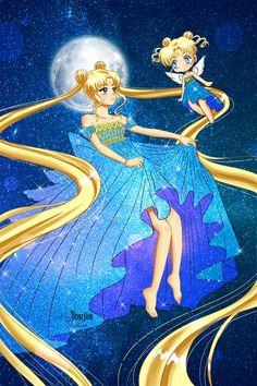 Cool angel mini of usagi Sailor Moon Girls, Sailor Moom, Sailor Moon Manga, Sailor Moon Art, Sailor Moon Crystal, Neo Queen Serenity, Princess Serenity, Moon Princess, Princess Art