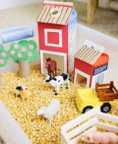 Calling for farm theme activity ideas for toddlers and preschoolers! I'm tryin… Calling for farm theme activity ideas for toddlers and preschoolers! I'm trying something fun this month for my new shelf. Farm Activities, Toddler Learning Activities, Infant Activities, Learning Toys, Easter Activities, Summer Activities, Toddlers And Preschoolers, Toddler Play, Toddler Preschool
