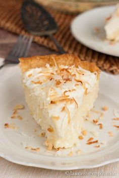 The Ultimate Coconut Cream Pie by Laura's Sweet Spot