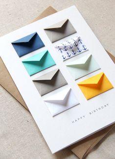 Joyeux anniversaire nautique carte de par LemonDropPapers sur Etsy