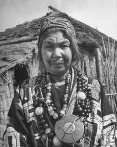 Wife of Ainu village chief, Shiraoi, 1946 by Alfred Eisenstaedt