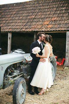 Wedding tractor
