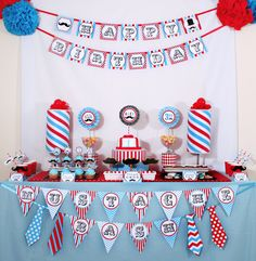 Little Man Mustache Birthday Party Package Personalized FULL Collection Set - PRINTABLE DIY - PS829CA1x. $35.00, via Etsy. - il ike the colors