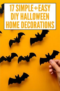 There's nothing more satisfying that making your own DIY Halloween decorations, plus it saves some cash too. This post features impressive outdoor Halloween decorations to welcome trick or treaters, plus lots of Halloween crafts for kids to make, and easy party décor to scare your guests, big and small!#Halloween #Halloweendecorations #Halloweendiydecorations #Halloweendecorationsforkids #Halloweencrafts