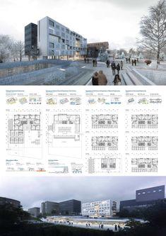 서울시립대학교 미래융합관 설계공모_WebDRM[iZn] Concept Board Architecture, Architecture Presentation Board, Architecture Sketchbook, Architecture Panel, Architecture Graphics, Space Architecture, Architecture Portfolio, School Architecture, Architecture Details