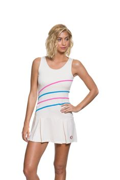 Sue Tennis Dress. Available on our website:                                                                          www.30Fifteen.co.uk 30Fifteen | Tennis | Fitness | Health | Fashion