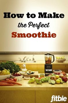 Want to make a healthy meal in under 90 seconds? This ultimate #smoothie guide from celebrity trainer Harley Pasternak will ensure a delicious, balanced blend every time. | Fitbie.com