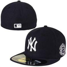 New Era Derek Jeter New York Yankees Navy Blue On-Field Retirement 59FIFTY Fitted  Hat 9609d9d29