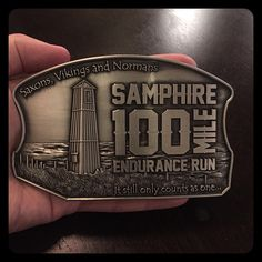 The Road to Samphire100 100mile Race #1 As you know I didnt finish my first 100 mile race at Samphire Hoeheres how the Boyf got on! For the TLDR Crew I ran my first 100mile race in July 2016. It was hard. I didnt eat properly. I didnt drink properly. It hurt. A lot. But its done and I earned the worlds finest finisher buckle and T-shirt. I learnt many things about myself and how much respect the distance demands. But make no mistake it bloody hurt. For the Technical Manual Reading Crew A…