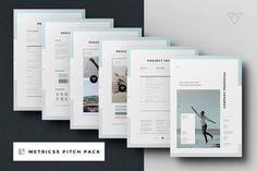 Proposal Pitch Pack By Egotype On Creativemarket  Design Ideas