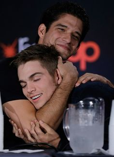 VJBrendan.com: Tyler Posey, Cody Christian and Dylan Sprayberry at the 2015 New York Comic-Con