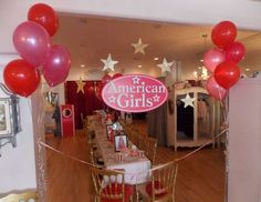 American Girl Tea Party