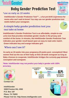 IntelliGender's Gender Prediction Test is an affordable, simple-to-use urine t. - IntelliGender's Gender Prediction Test is an affordable, simple-to-use urine test that provides i - Gender Prediction Test, 10 Weeks Pregnant, Pregnancy Pillow, Mom And Baby, Simple, Shower Ideas, Baby Shower, 10 Week Pregnancy, Babyshower