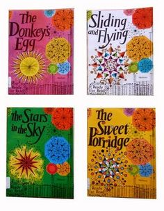 The Hungry Lambs, The Sweet Porridge, The Stars in the Sky, Sliding & Flying.  There was also, The Donkey's Egg & Boat Day - all books I learnt to read with in the 60's in New Zealand