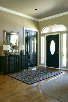 our fifth house: Thinking of Painting Your Interior Doors Black?