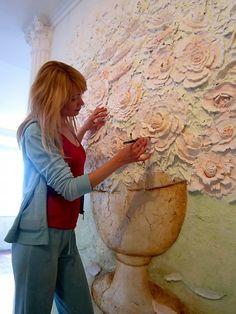 Барельеф - Скульптура и лепка - Лепные панно и барельефы
