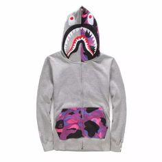 sudadera bape shark hoodie street wear stussy hba supreme