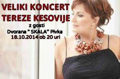 REGBIT1: Bela canção croataTereza Kesovija  hoje completa 7...