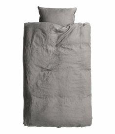 Linen Duvet Cover Set $59.95 | H&M US