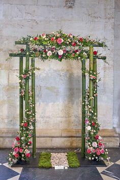 « Aux portes de l'Éden » par Monique Gimenez et ses collègues (fleurs MG Fleurs) - © Atelier TOPGUN