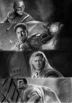 The Avengers drawing by natmorley.deviantart.com