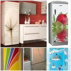 Холодильники с рисунком на дверце, как украшение вашей кухни