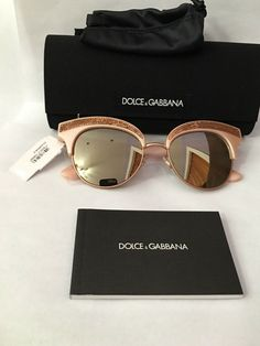 dfbbaea9e92c Brand new authentic DOLCE   GABBANA sunglassss rose gold sequence and blush  color !