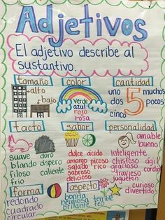 Dual Language Classroom, Bilingual Classroom, Bilingual Education, Spanish Classroom, Preschool Classroom, Spanish Anchor Charts, Anchor Charts First Grade, Reading Anchor Charts, Spanish Lesson Plans