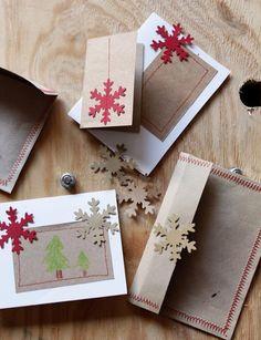 tarjetas de navidad originales hechas a mano ver ms escarabajos bichos y mariposas nos encanta http