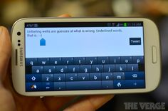 """Live Language (new SWYPE for Android)    It will add """"trending words and phrases in real-time"""" to your dictionary rather than manually adding them. The Smart Editor will highlight the word(s) in a sentence you may think you'd want to change!"""