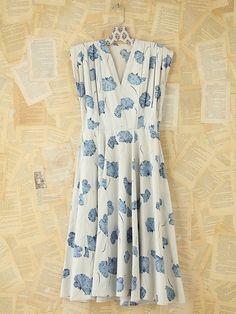 Free People Vintage Floral Printed Dress, $498.00