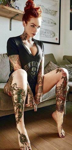 Women's Plus Size Intimates Hot Tattoos, Life Tattoos, Body Art Tattoos, Tatuajes Amy Winehouse, Plus Size Intimates, Up Girl, Beautiful Tattoos, Inked Girls, Sexy Body