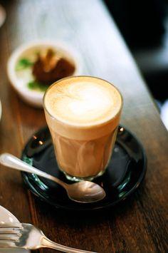 Latte from Caravan on Exmouth Market