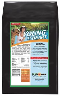 K9-Power 'Young at Heart' Senior Dog Support Formula, 1-Pound * Continue to the product at the image link.