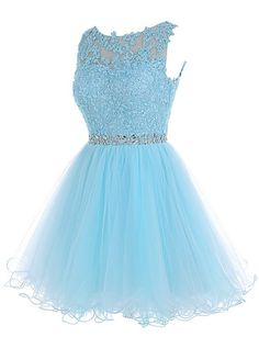 Applique Short Prom Dresses,Tulle Homecoming Dresses,Strapless Homecoming Dresses