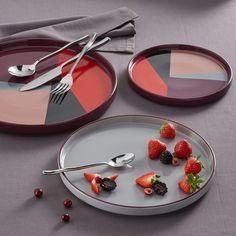 Image Driskol Ceramic Multi-Coloured Serving Dish La Redoute Interieurs