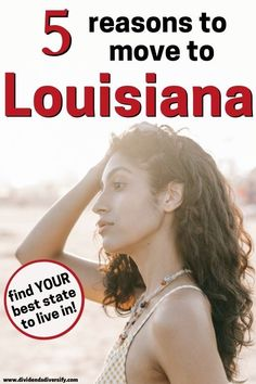 Find the best states to live in. And the best places to live in the U.S. For families, fun, or retirement. Are you thinking of moving to Louisiana from another state? We explore the pros and cons of living in Louisiana. So you can answer the question: should I move to Louisiana? Don't delay. Read on and get moving... Best Places To Retire, Retirement Advice, Beautiful Places To Live, Work Travel, Best Cities, Louisiana, The Good Place, Families, Explore