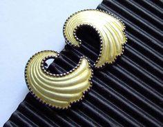 Rare ear clips: Elvik & Co in Oslo / by ideenreichBerlin Silver Enamel, Oslo, Vintage Jewelry, Sterling Silver, Norway, Earrings, Fire, Wedding Ideas, Etsy