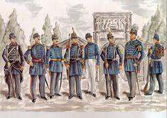 Le Regiment de l'Escaut Les planches uniformologiques de Robert Aubry