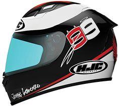 Hjc Fg-17 X-fuera Lorenzo Replica Full-face Motorcycle Helmet (mc-1, Medium) http://www.motorcyclegoods.com/18-best-coolest-full-face-helmets/