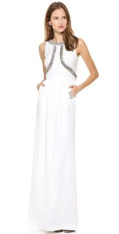 Temperley London Long Goldina Dress | SHOPBOP