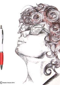 1 Hour sketch by Keala's Studio