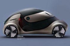 Apple iMove concept car © Liviu Tudoran