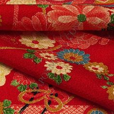 Chirimen Fabric. So many crafts are made with Chirimen. So many beautiful designs.