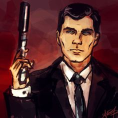 MY FAVORITE CHARACTER ON ARCHER IS ARCHER p.s. if you don't watch this show you are seriously, seriously missing out