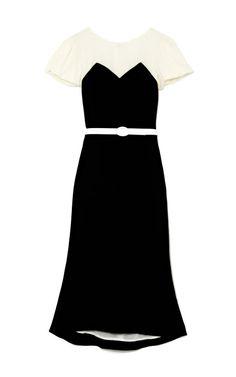 Black And White Dress by LWren Scott Now Available on Moda Operandi